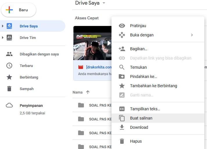 Cara Mengatasi dan Membuka Link Download Google Drive 1Limit