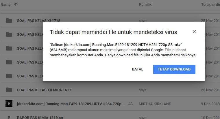 Cara Mengatasi dan Membuka Link Download Google Drive Limit 3