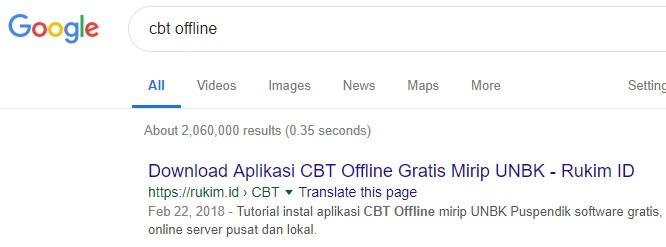 CBT Offline Gratis