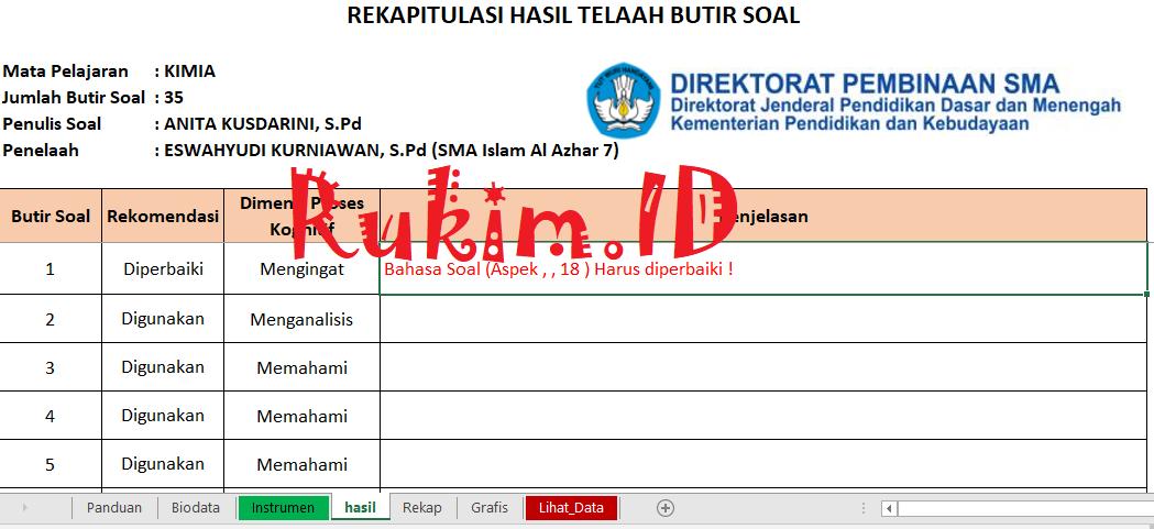 Download Aplikasi Telaah Soal