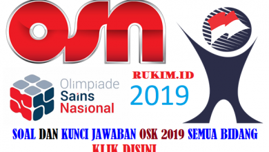 Download Soal OSK 2019