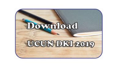 Download Soal UCUN DKI 2019