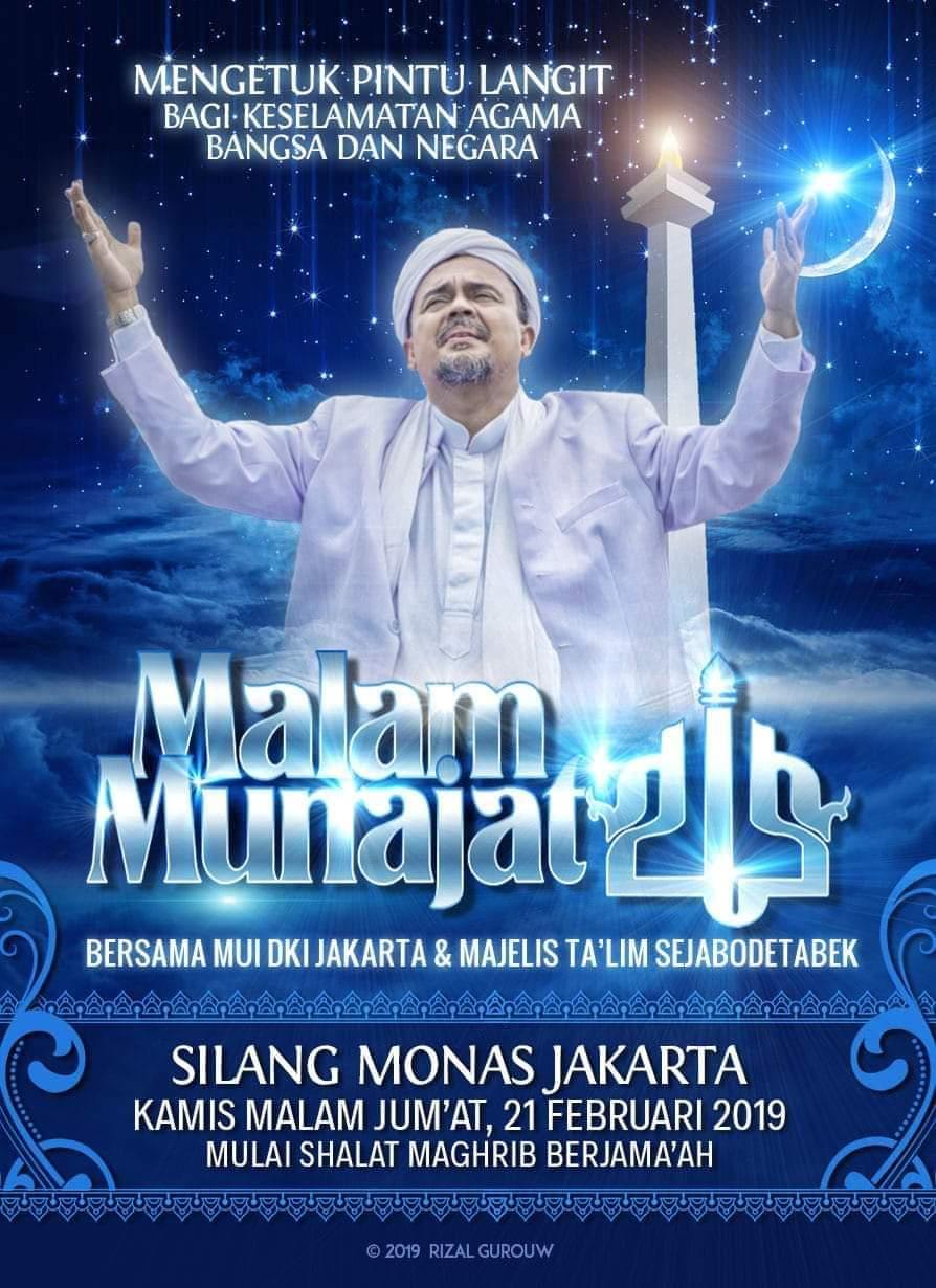 Live streaming Munajat 212