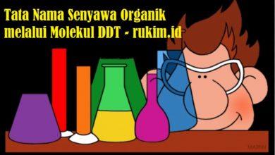 Tata Nama Senyawa Organik DDT