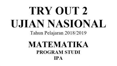 Photo of Latihan Soal UN (UNBK) Matematika IPA SMA/SMK/MA 2019 (2018/2019) PDF DOC