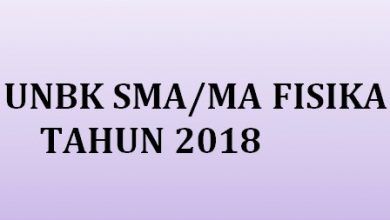 Photo of Download Soal dan Pembahasan UN Fisika 2018
