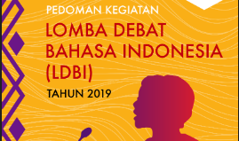 Photo of Download Juknis Lomba Debat Bahasa Indonesia (LDBI) SMA 2019 PDF