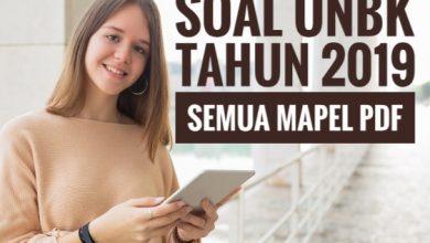 Photo of Download Soal UN (UNBK/UNKP) SMA Tahun 2019 PDF Semua Mapel