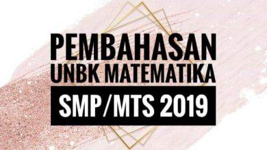 Photo of Pembahasan Soal UN Matematika SMP/MTs 2019 di Parkiran Ada 90 Kendaraan