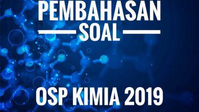 Photo of Soal dan Pembahasan OSP Kimia 2019 PDF DOC Nomor 21-30