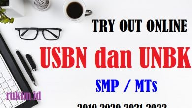 Photo of Try Out Online USBN UNBK Matematika SMP/MTs 2018/2019 UCUN