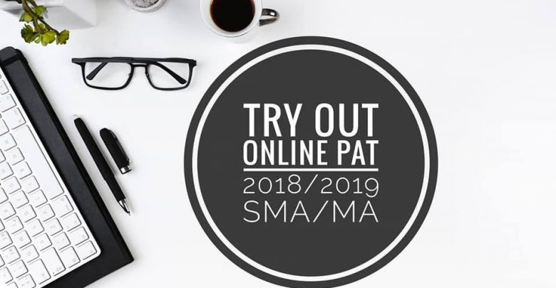 Try Out PAT Kelas X XI 2018 2019