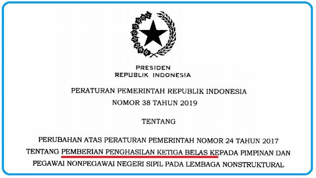 Download PP Nomor 38 Tahun 2019