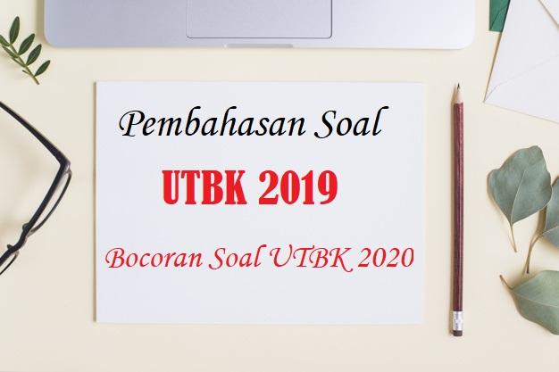 Download Pembahasan Soal UTBK 2019