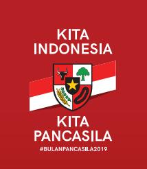 Logo Hari Lahir Pancasila 2019
