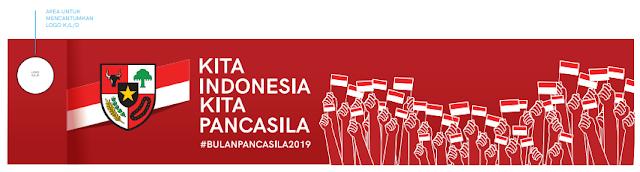 Logo Tema Hari Lahir Pancasila 2019