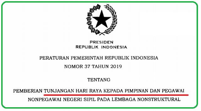 PP Nomor 37 Tahun 2019