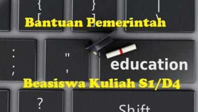 Program Bantuan Pemerintah Kuliah S1