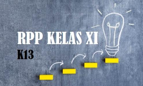 RPP Kelas XI Revisi 2019 K13