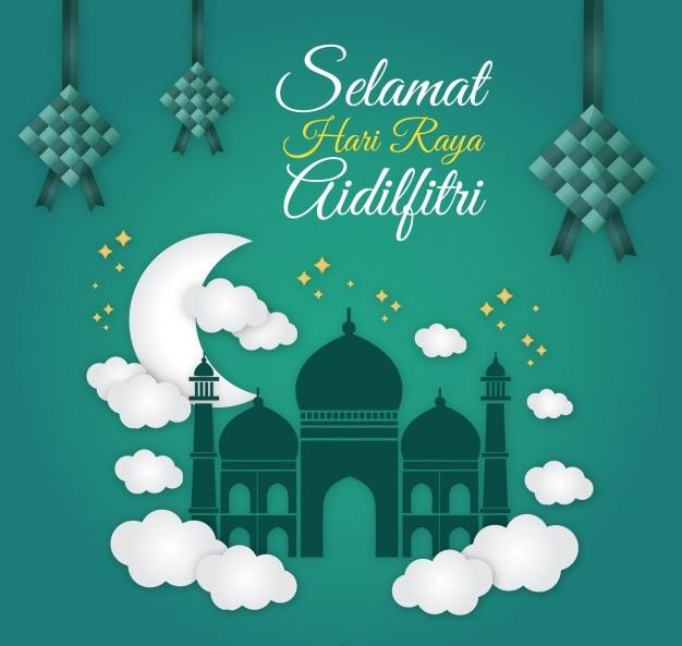 Gambar Ucapan Selamat Idul Fitri 2019