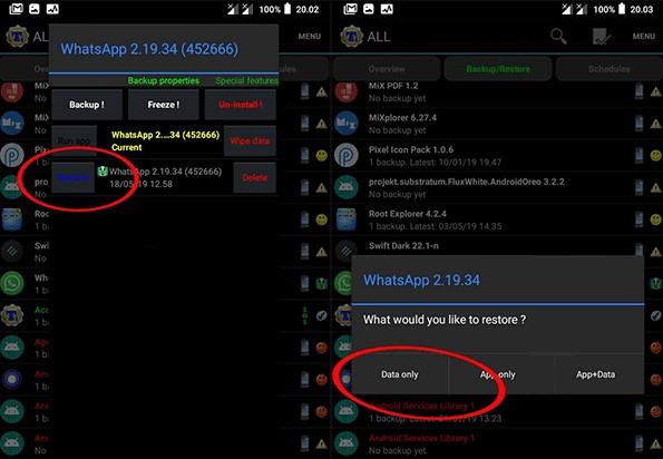 Cara Restore Whatsapp Mod Anti Banned Anti Blokir