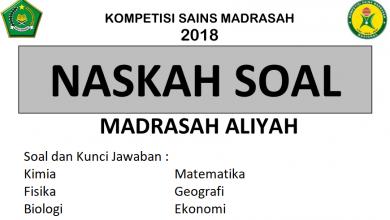 Photo of Download Soal dan Pembahasan KSM 2018 Tingkat Provinsi PDF DOC