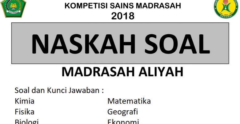 Soal KSM 2019