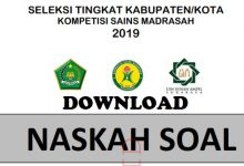 Download Soal KSM 2019