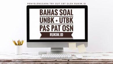 Latihan Soal Online PAS UAS 2019