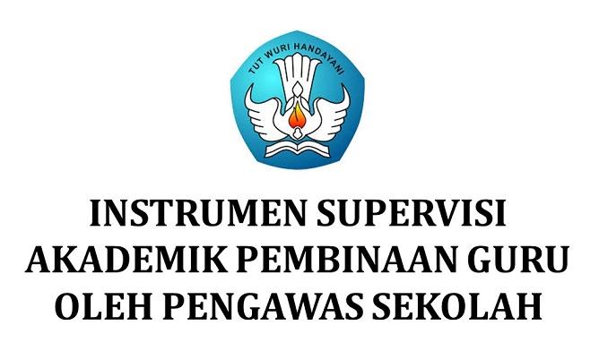 instrumen e-supervisi pengawas sekolah