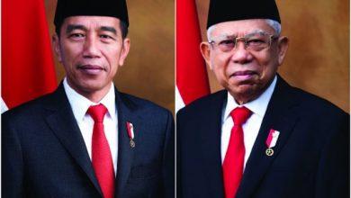 Photo of Download Foto Presiden dan Wakil Presiden Resmi 2019-2024
