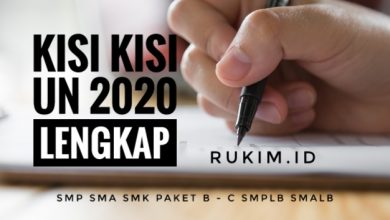 Photo of Download Kisi-kisi UN Kimia 2020 PDF