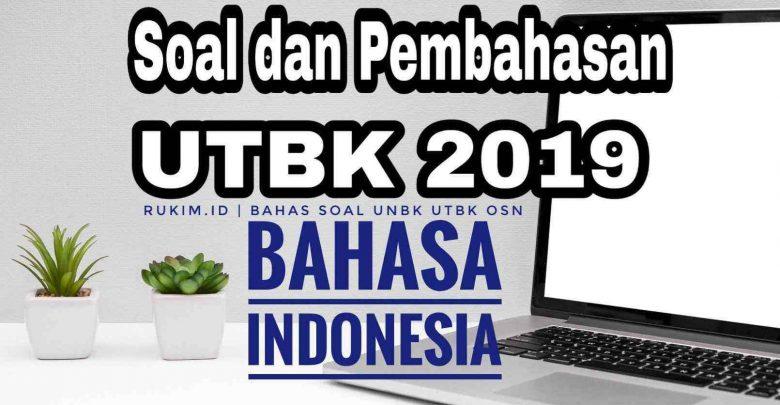 Download Pembahasan Soal UTBK Bahasa Indonesia 2019