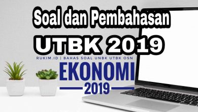 Photo of Pembahasan Soal UTBK 2019 Ekonomi Persiapan UTBK 2020