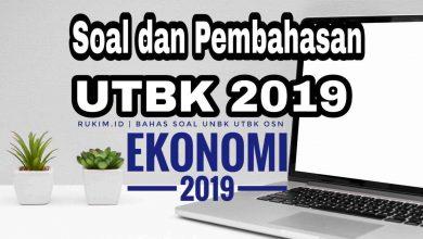Download Pembahasan Soal UTBK Ekonomi 2019