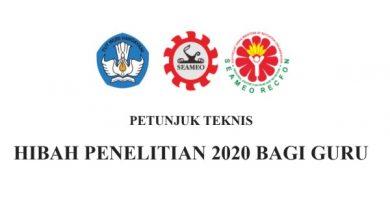 Hibah PTK 2020 SEAMEO RECFON