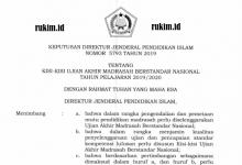 Kisi-kisi UAMBN 2020