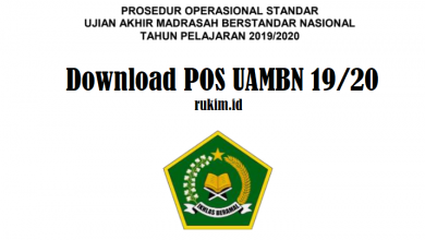 Photo of Download POS UAMBN MI MTS MA Tahun 2020 PDF