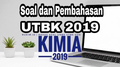 Photo of Pembahasan Soal UTBK 2019 Kimia Persiapan UTBK 2020