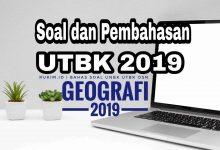 Soal dan Pembahasan UTBK Geografi 2019
