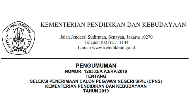 Try Out Online CPNS 2019