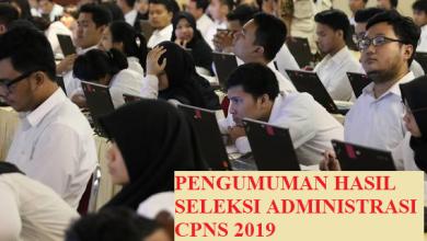 Photo of Download Hasil Seleksi Administrasi CPNS Jawa Tengah 2019