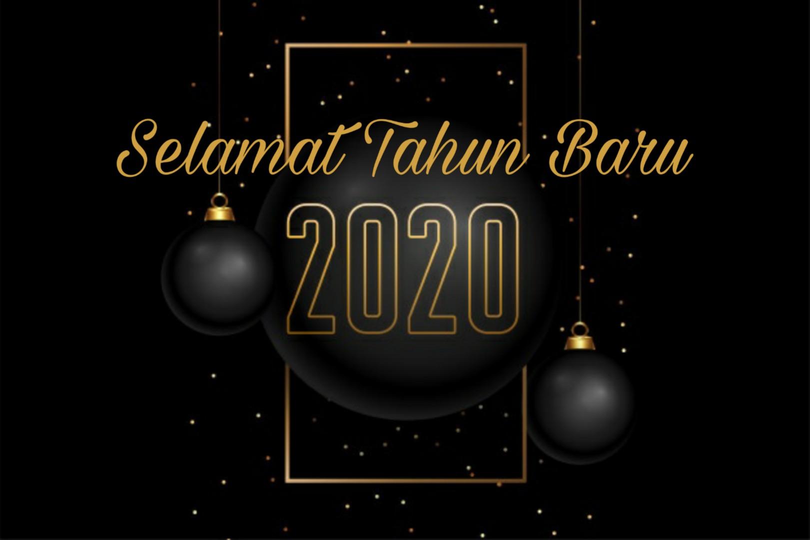 Gambar Ucapan Selamat Tahun Baru 2020