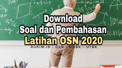 Photo of Download Soal Latihan OSN Kimia 2020 PDF + Pembahasan