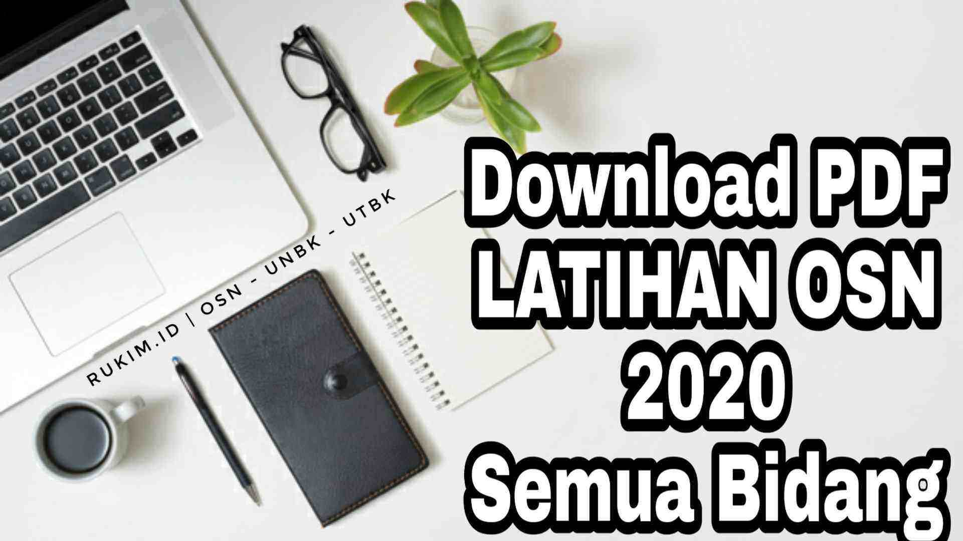Download Pembahasan Persiapan Soal OSN 2020