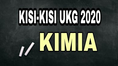 Photo of Download Kisi-kisi UKG Kimia 2020 PDF DOC