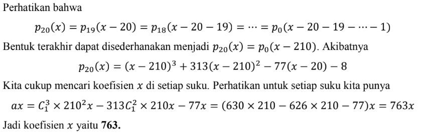 Pembahasan Soal Pembahasan OSN Matematika 2020 no 10