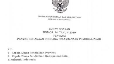 Photo of Download Format RPP 1 Halaman 2019