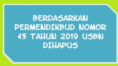 Photo of Kriteria Kelulusan Peserta Didik Sesuai Permendikbud Nomor 43 Tahun 2019