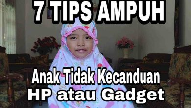 Tips agar anak tidak kecanduan hp